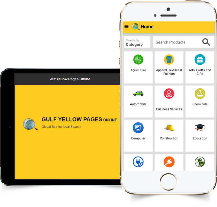 Gulf Yellow Pages mobile app