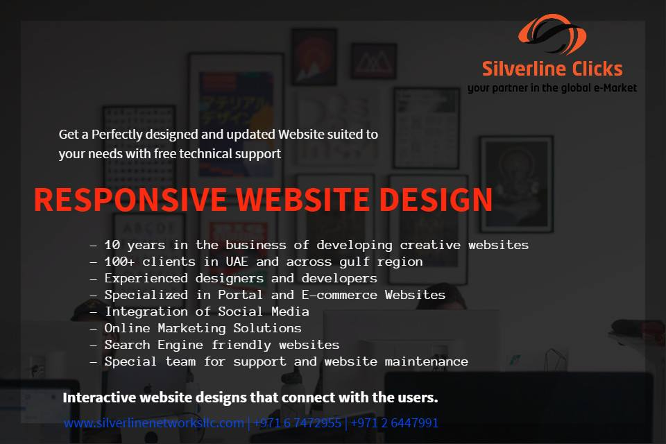 Responsive Website from Silverline