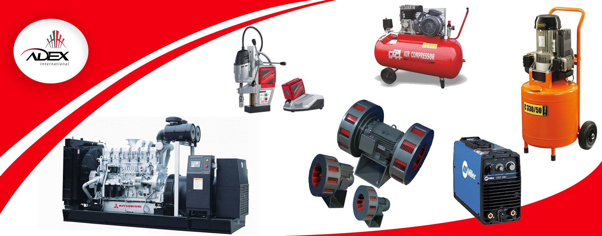 Generators from Adex International