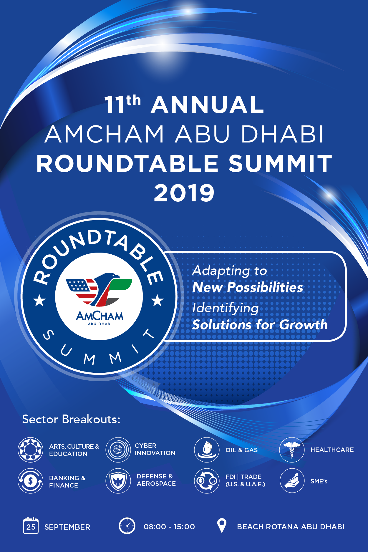AMCHAM ABU DHABI ROUND TABLE SUMMIT 2019