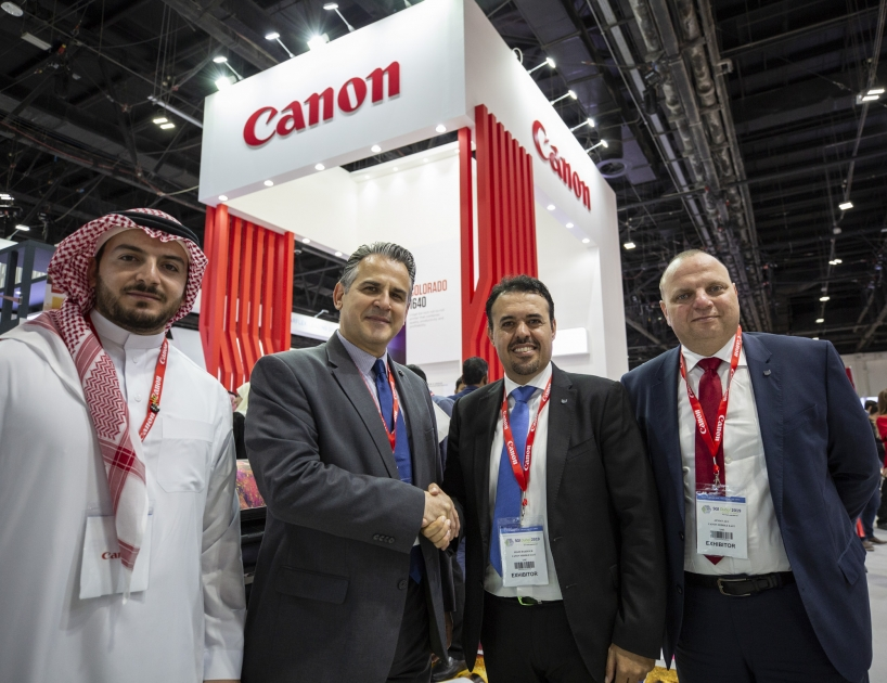 Canon and Copatra Graphics partnered to develop Saudi Arabia Graphic Art Industry