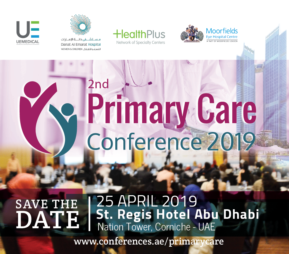 2nd Primary Care Conference 2019, April 25, 2019