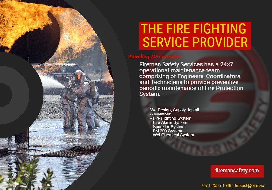 Fire Protection - A Priority both at home and workplace!!