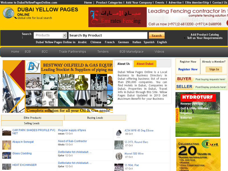 Dubai Yellow Pages Online