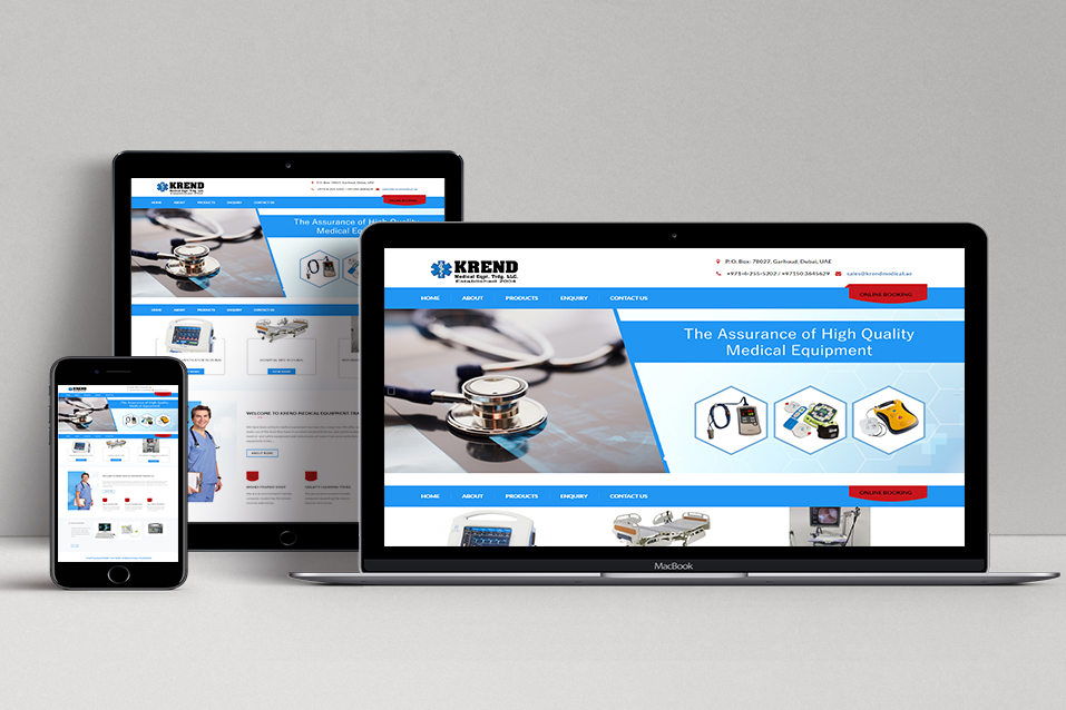 KREND MEDICAL EQUIPMENT